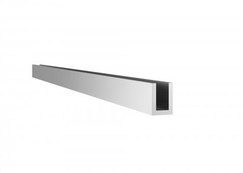 RI-0004-Trilho guia inf. simples para porta suspensa
