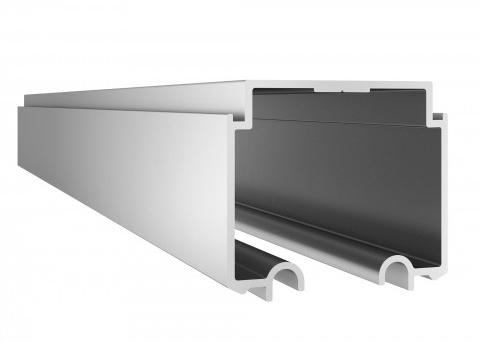 RS-0004-Trilho sup. simples para porta suspensa